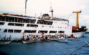 フィリピンの客船