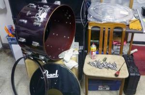 ドラムのメンテナンス