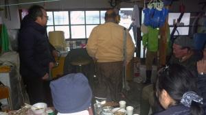 牡蠣小屋宴会
