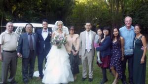ブリスベンで結婚式に